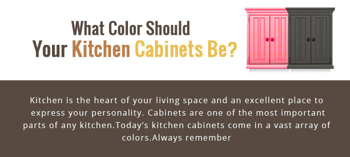 What color should your kitchen cabinets be?