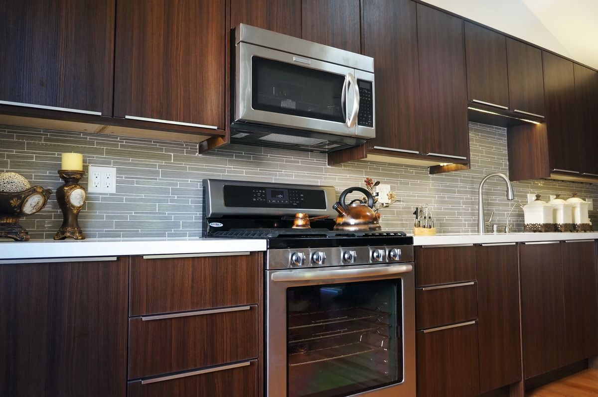 Cabinet City Cocoa Flat Panel Euro Style