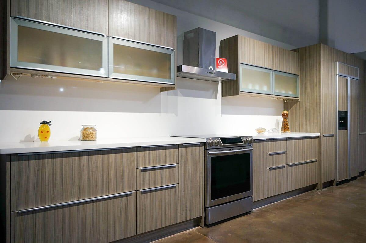 Milan Flat Panel , Euro Style , Cabinet City Kitchen and Bath
