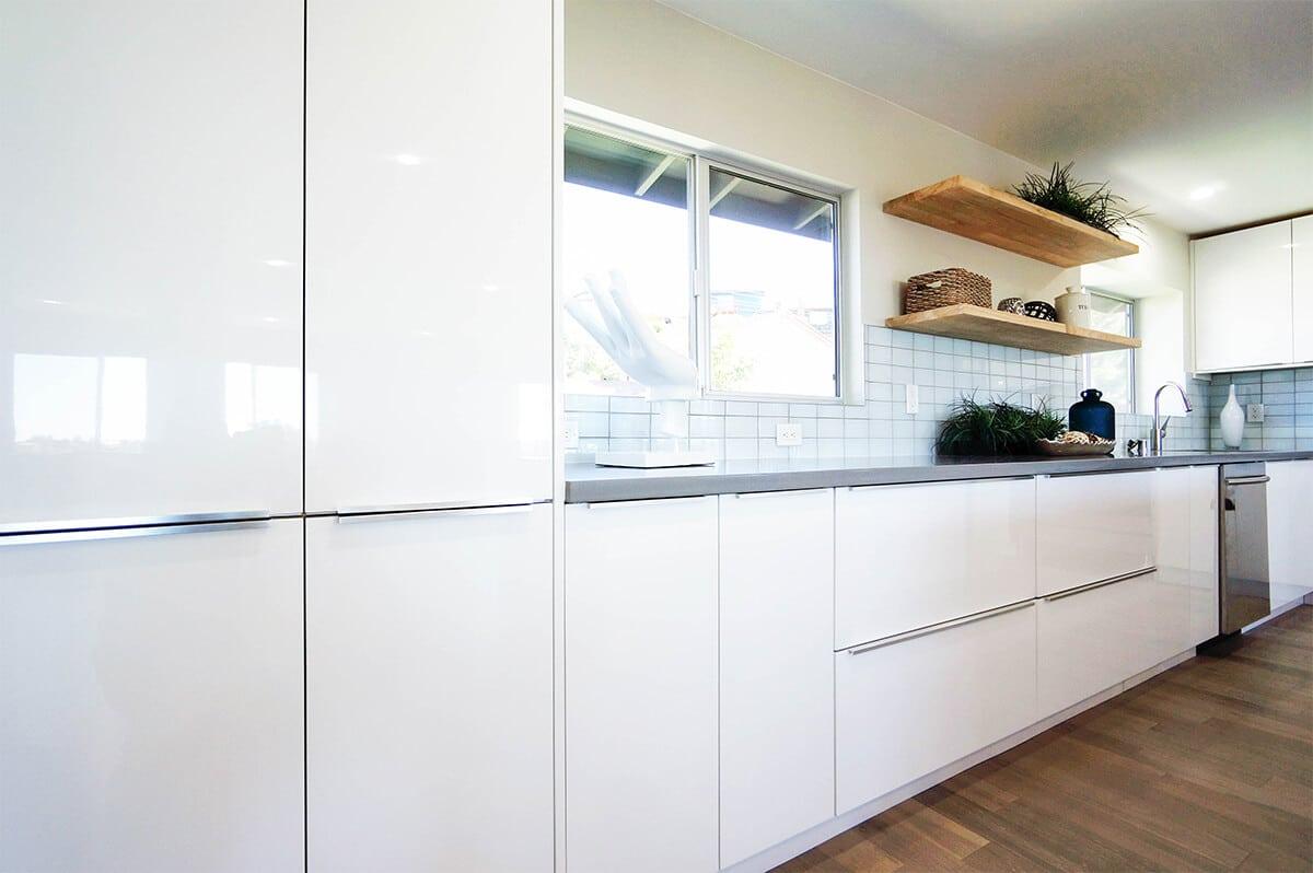 Hi Gloss White Cabinet City Kitchen And Bath