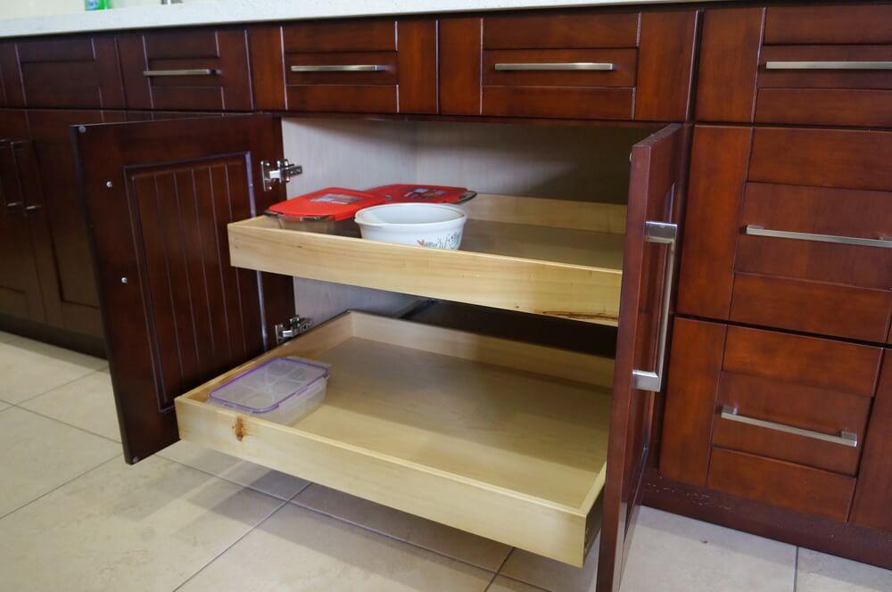 Mahogany Shaker RTA Cabinets | Cabinet City