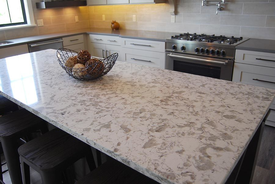 Manufactured Stone Countertops : Cabinet city identifying quartz from granite