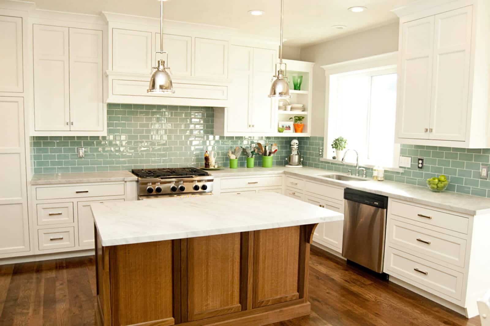 Best Backsplash Ideas For White Kitchen Cabinets