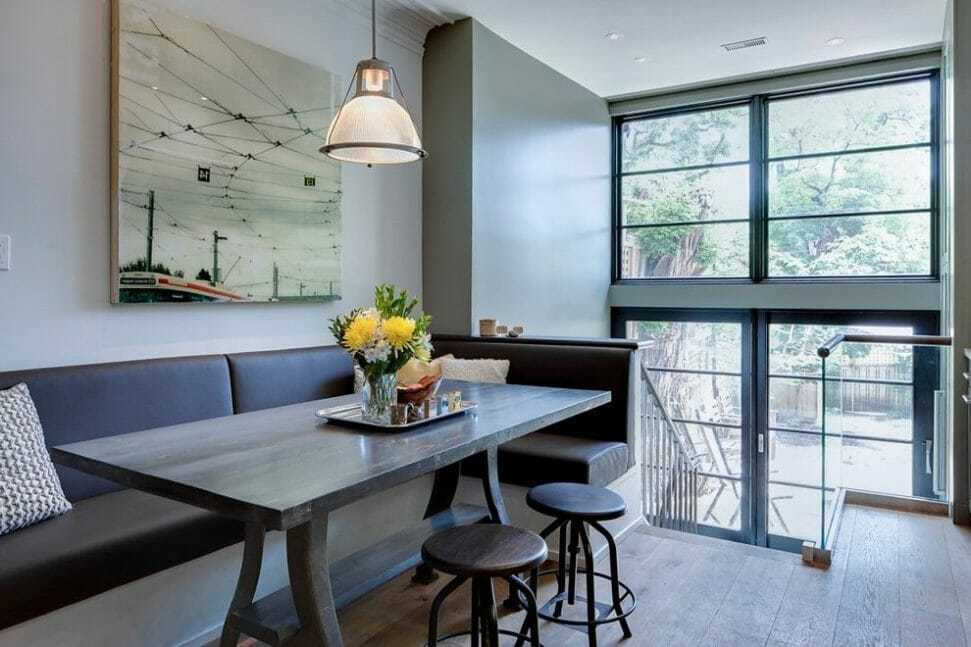 Modern Banquette Seating