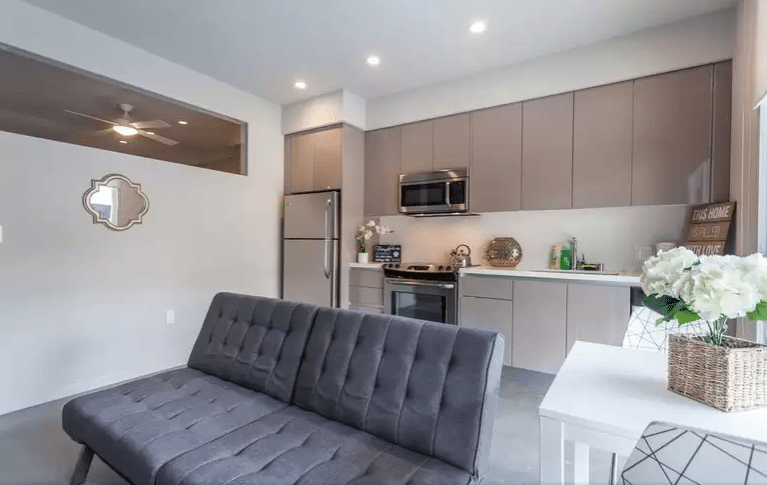 Modern Kitchen Cabinets Change Los Angeles Hotel Rooms