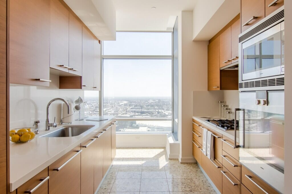 Ritz Carlton Hotel Room Kitchen in Los Angeles
