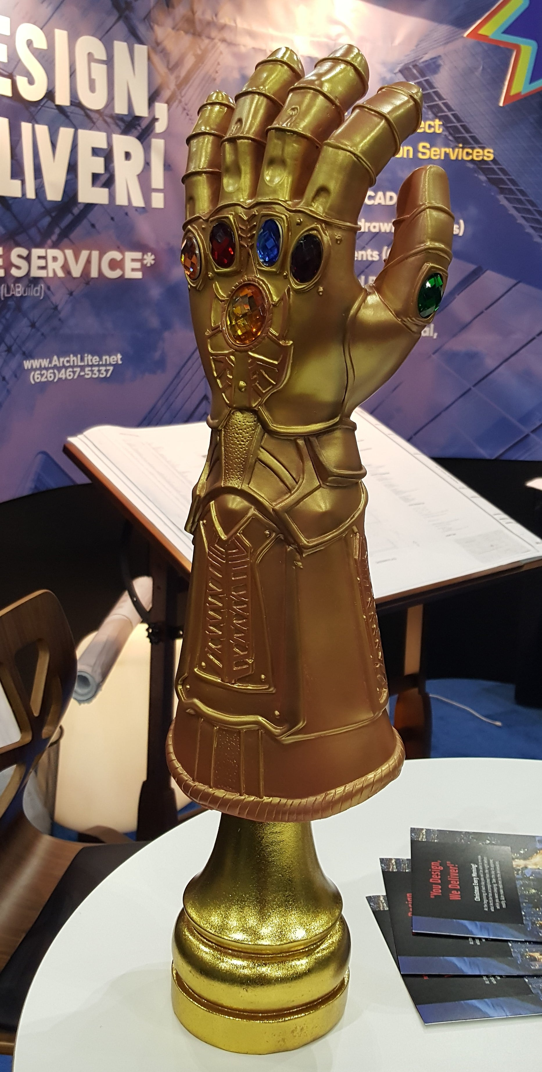 archlite-exhibitor-infinity-gauntlet-giveaway-build-expo