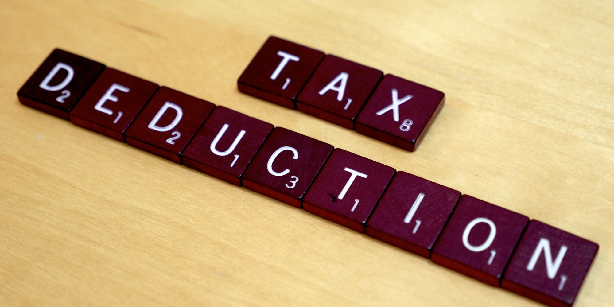 tax-deduction-scrabble-word
