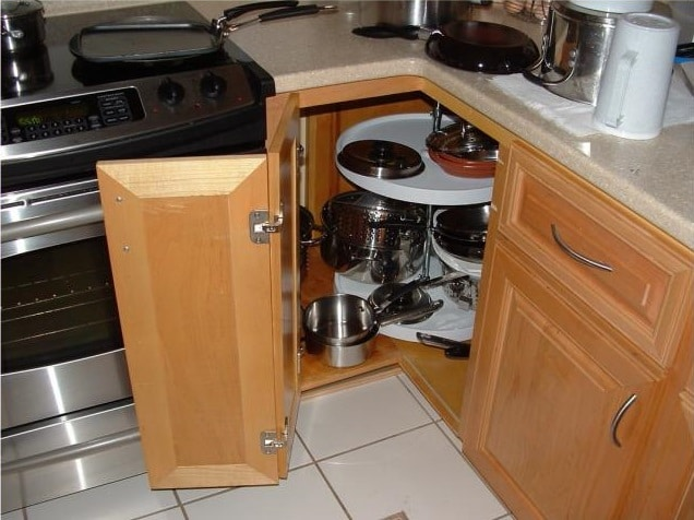 A-classic-lazy-susan-corner-kitchen-cabinet