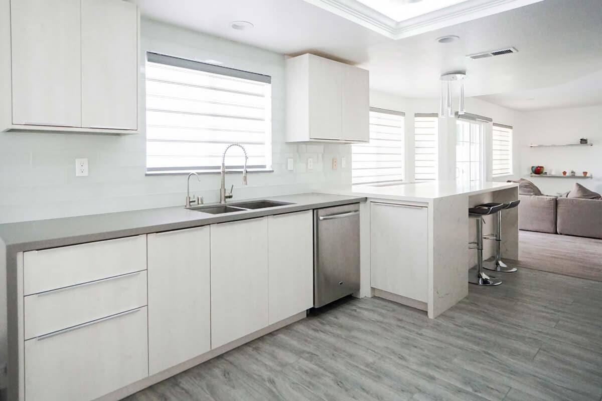 Bella Flat Panel - Euro Style - Cabinet City Kitchen and Bath